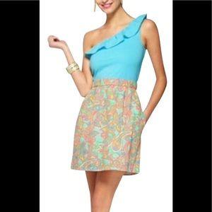 Lilly Pulitzer Dionne One Shoulder Dress